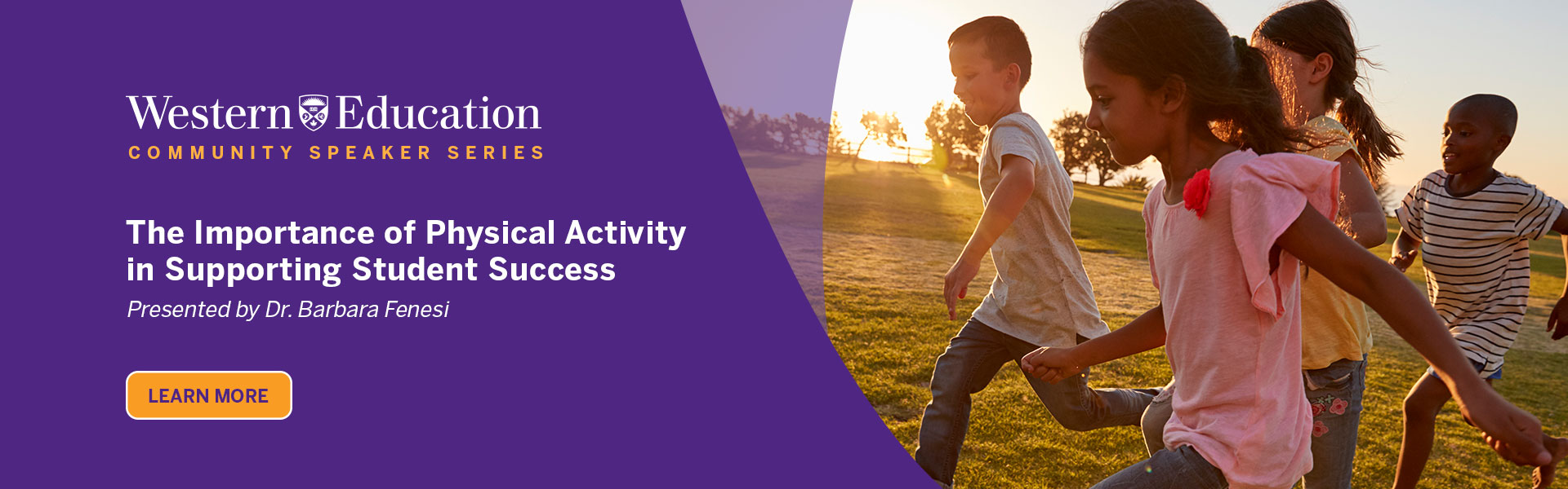 Community Speaker Series - The Importance of Physical Activity in Supporting Student Success