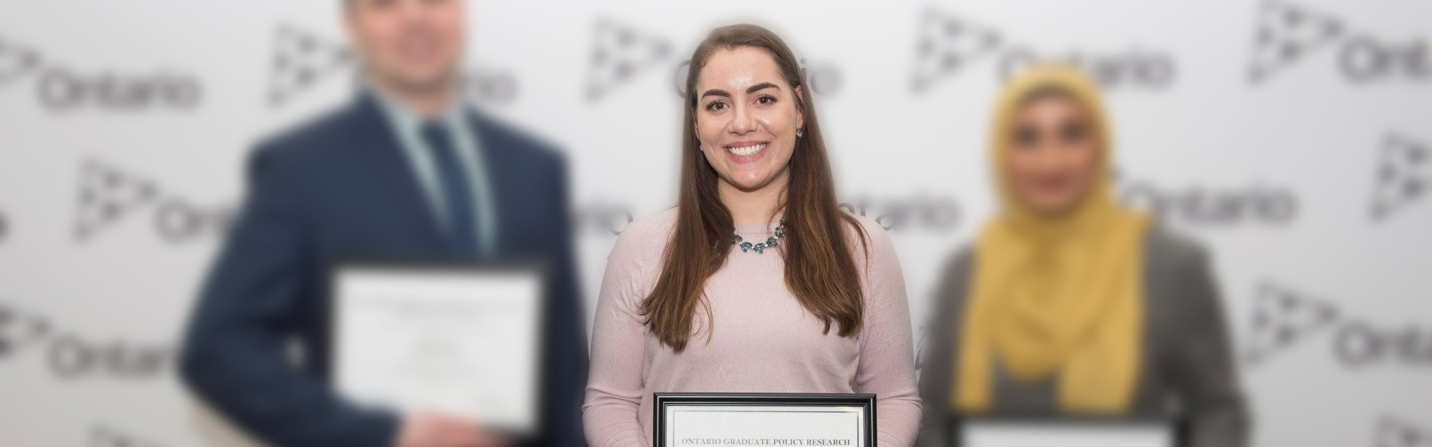 MA student receives  Ontario policy research award